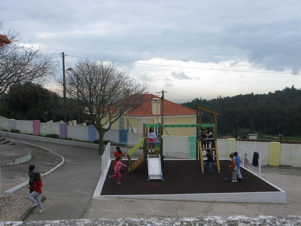 Studiebesök på byskolan