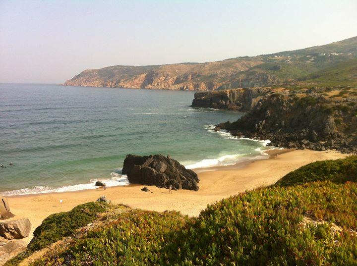 Vår strand före