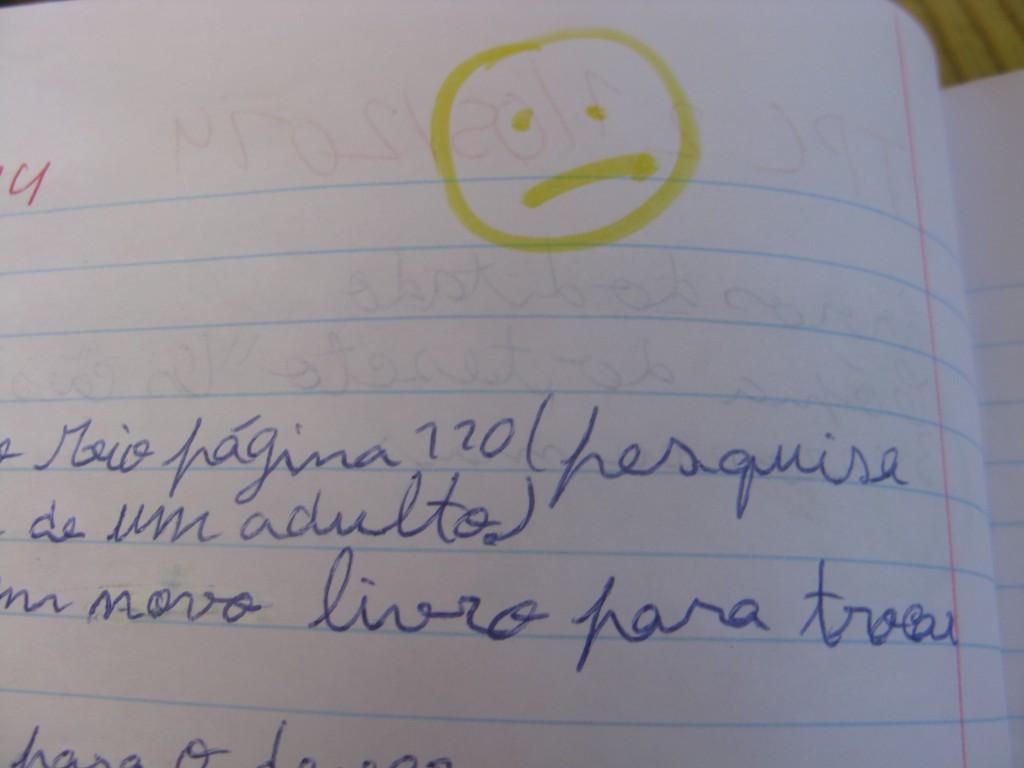 Frida har varit pratig! På portugisiska! Yes!