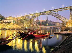 Nästa halvmara som går över den här bron i Porto måste jag anmäla mej till!