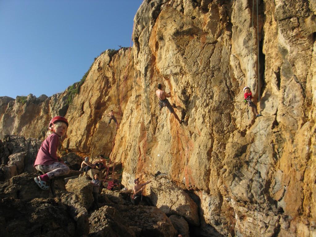 Fernandos klätterområde i Cascais.