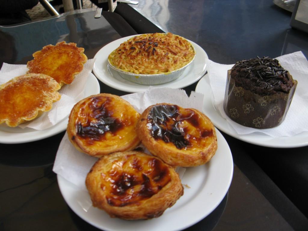 Nationalfavoriten: Pastéis de nata, och några till!