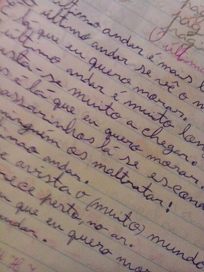 Frida skriver gärna och fort! Skrivstil ska det vara!