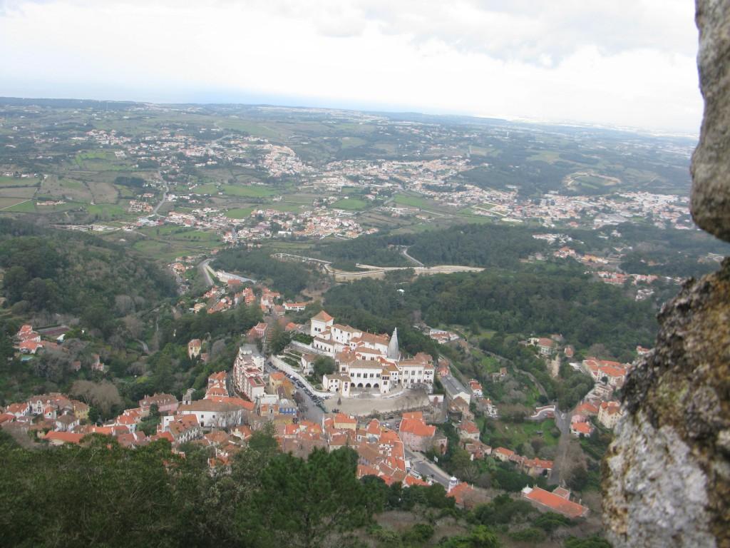 Man kan gå ned till Sintra!