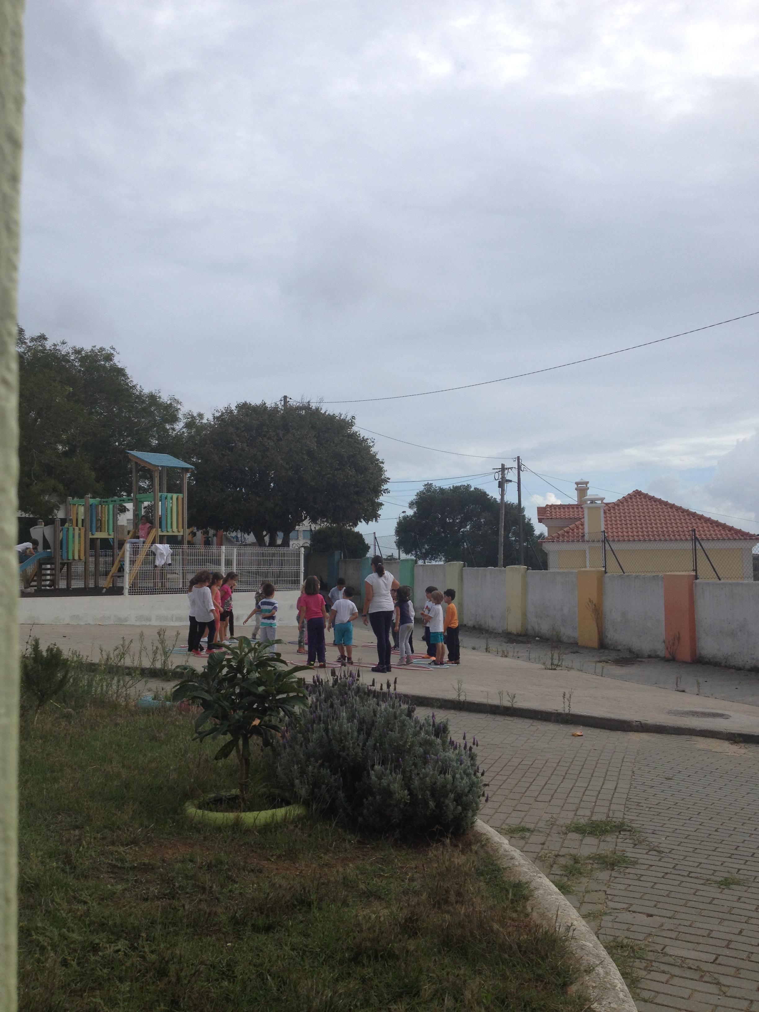 Icke-obligatorisk Idrott på skolgården
