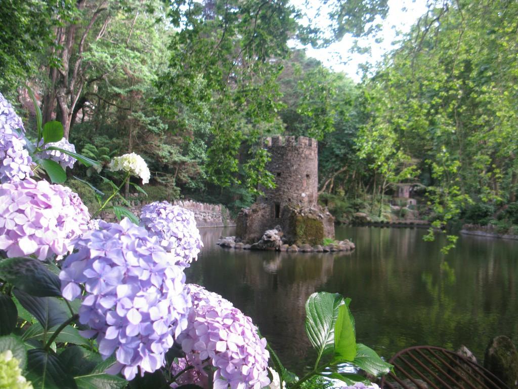 Olika blomsterprakt beroende på vilken tid av året man besöker parken