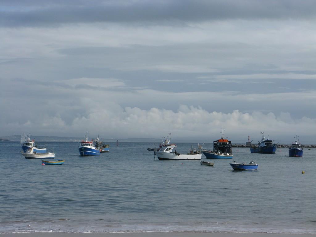 Fiksebåtarna i Cascaisbukten