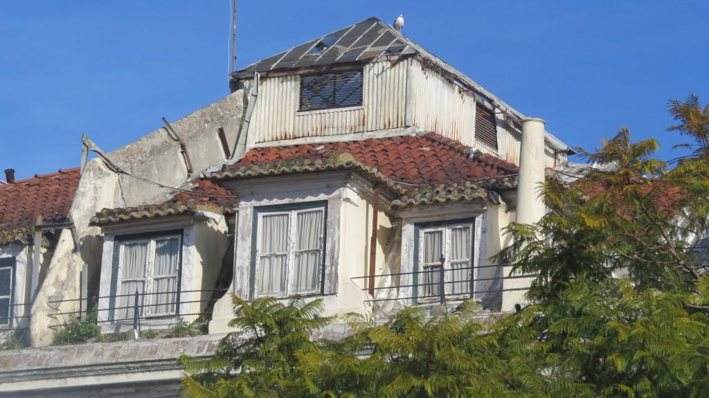 ...den här. På taket med vy över det vackra torget Rossio.