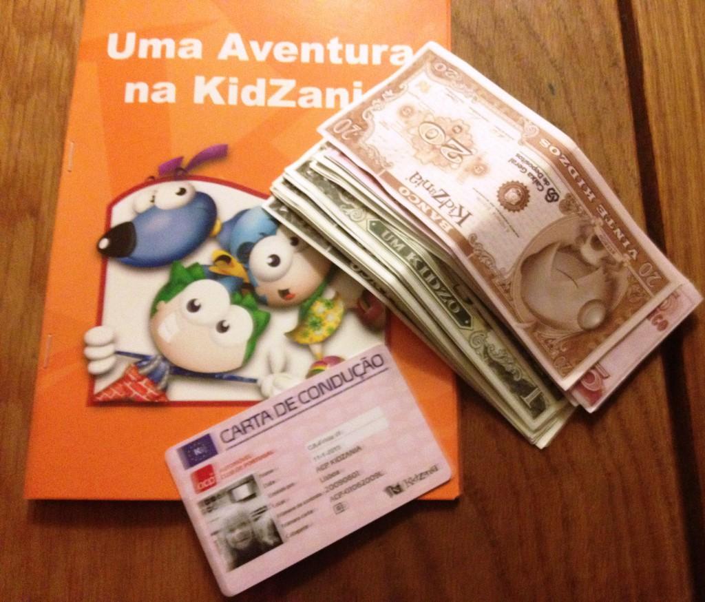 Tjänat 72 Kidzaniadollars!