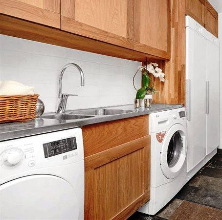 Orkidéer och ljuslyktor i tvättstugan, check!