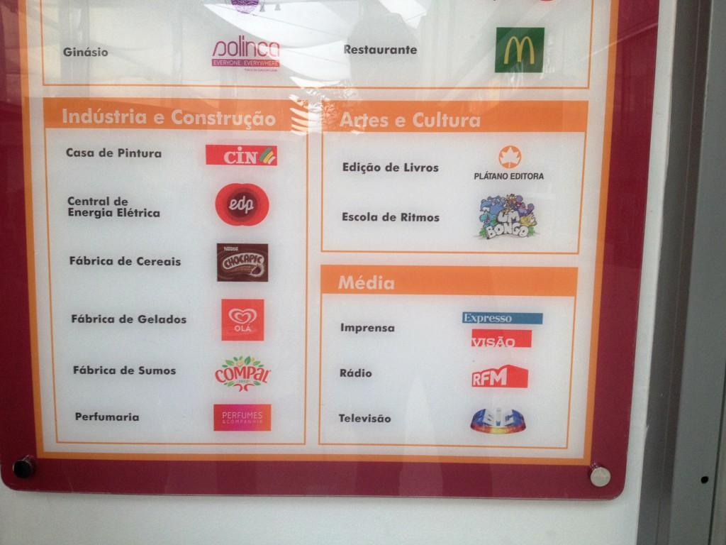 Alla aktiviteter sponsras av kommersiella företag som på det här sättet får god reklam