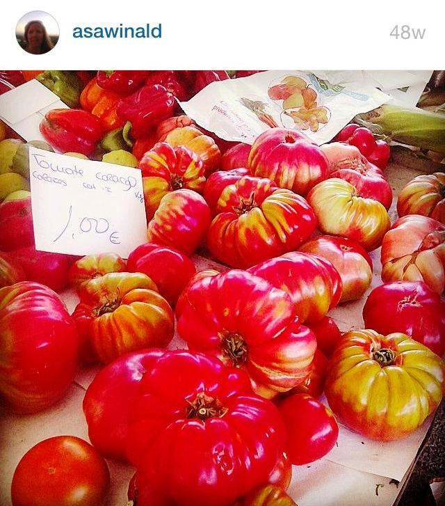 Åtta tomat, tack!