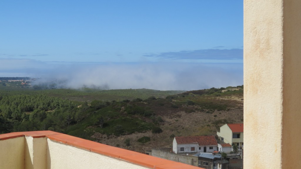 Lokal dimma över Guincho
