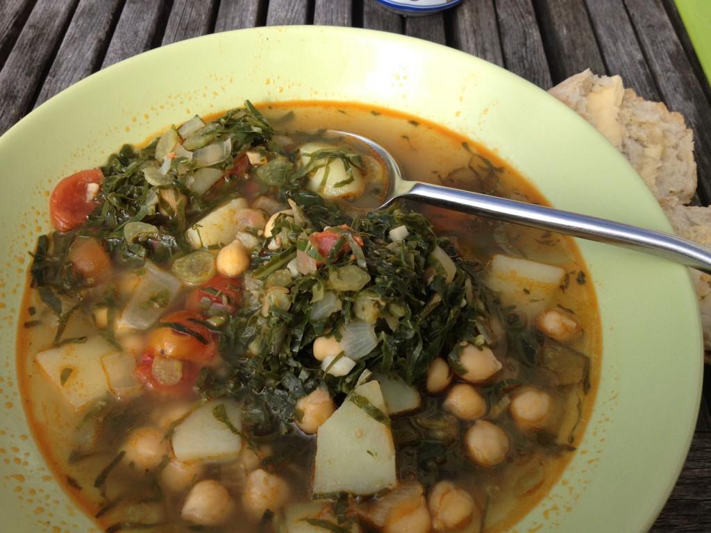 Kanske känns det bättre med lite soppa i magen?