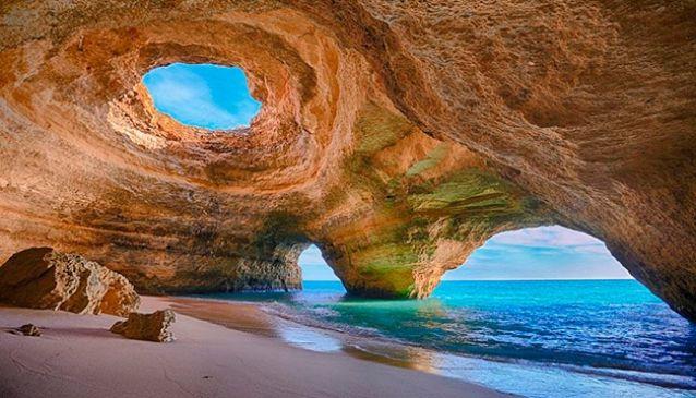 Den här bilden från Algarve