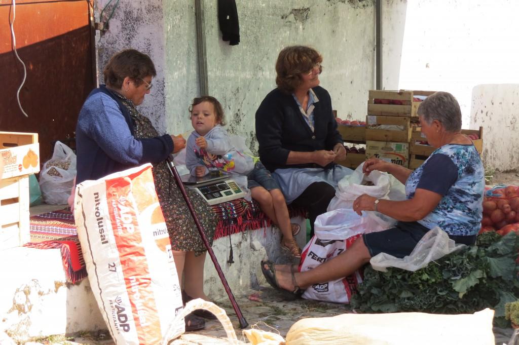 Hänger med mormor/farmor & co