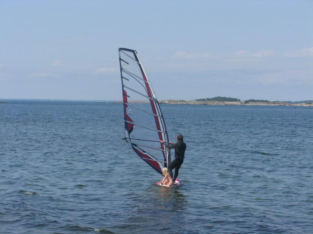 En inte så actionpackad men ändå fin dag vid Torö sommaren 2012.