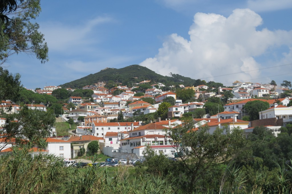 Ena delen av byn..