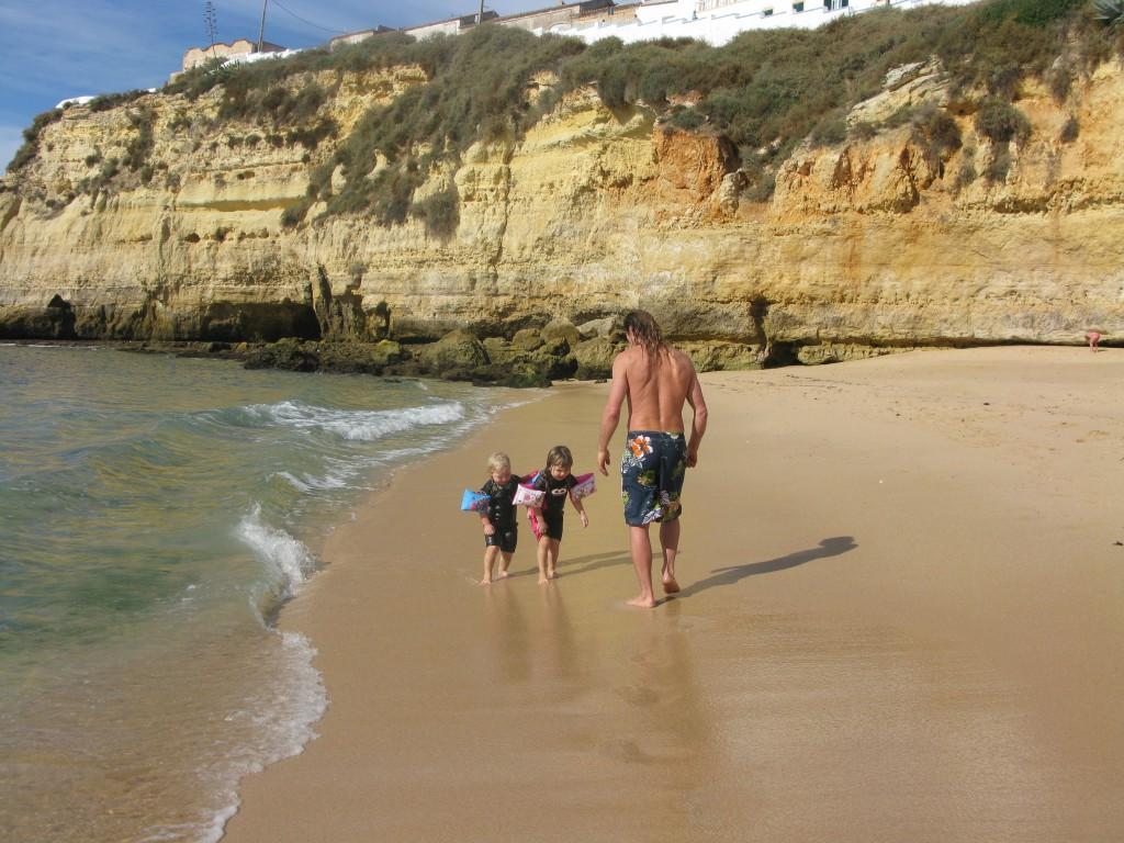 Stranden för oss själva!