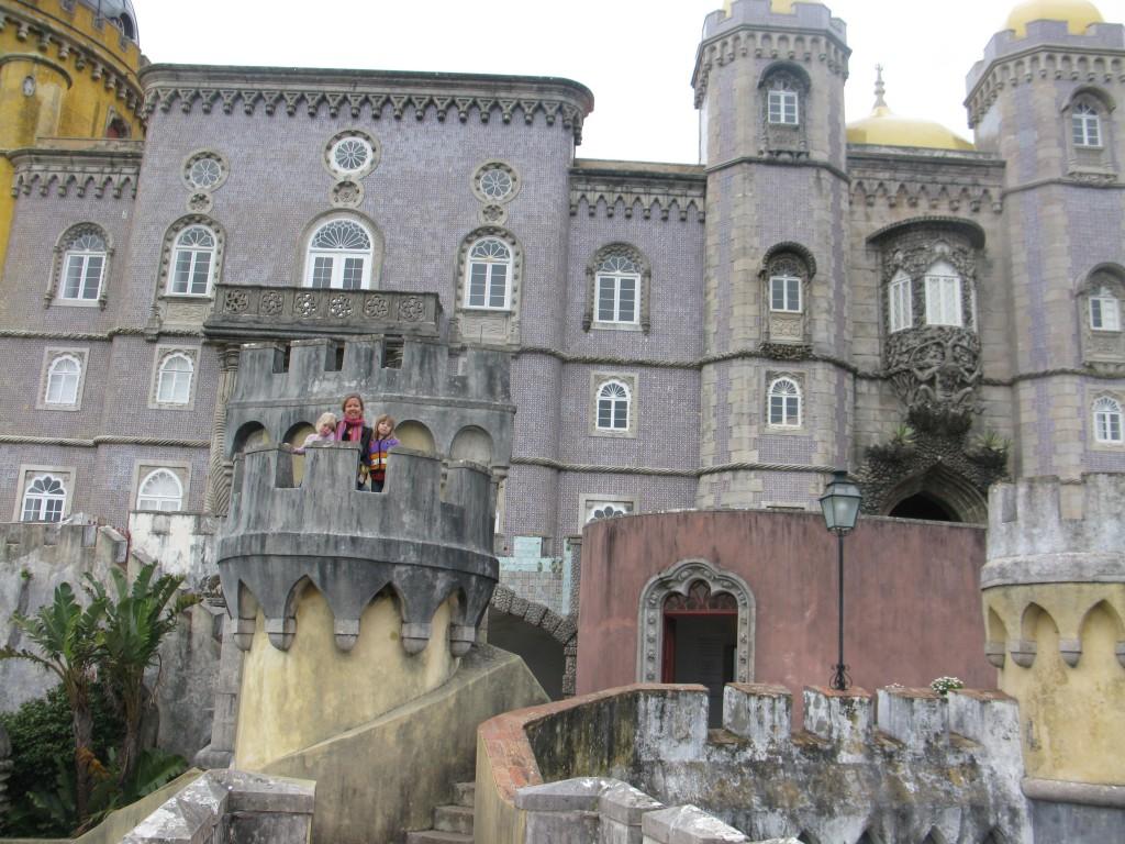 Palacio de Pena/ Galenslottet första gången