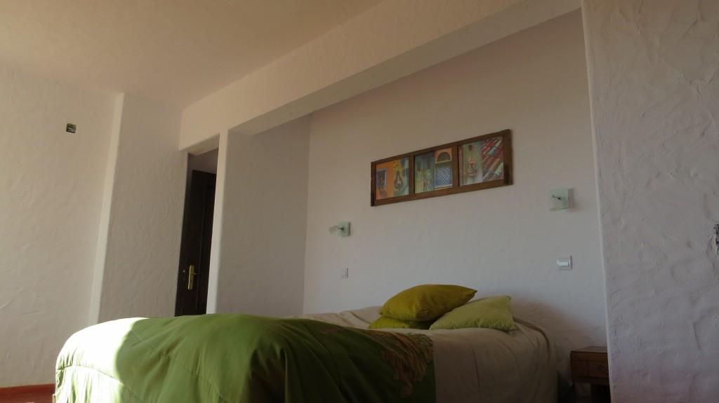 Sovrummet nymålat och fint!