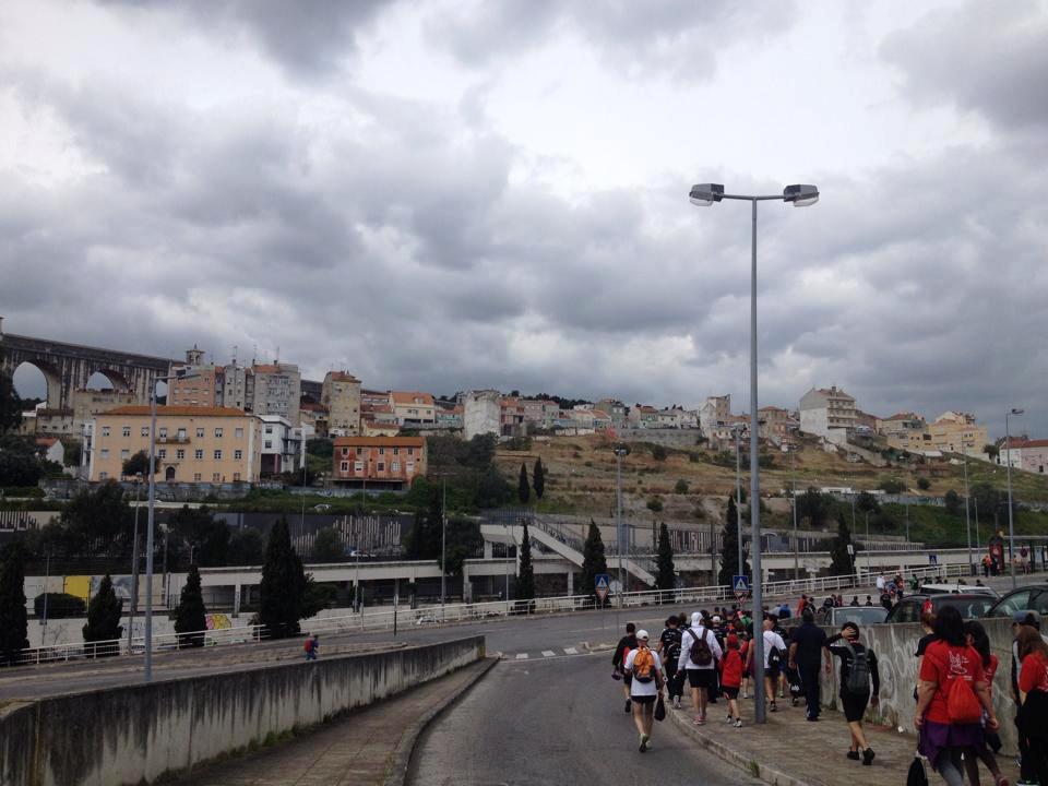 Mörka moln över Lissabon efter loppet