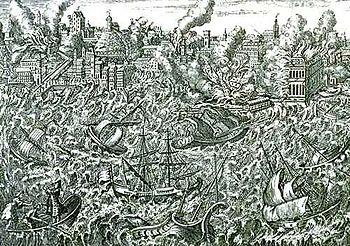 Bildgooglat jordbävningen i Lissabon