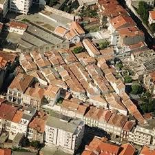 Bild från Google Earth på kvarteret