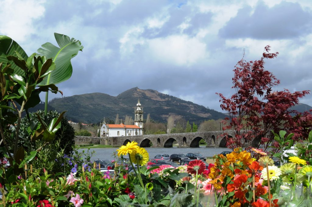 Vi hann också med ett besök i vackra Ponte de Lima, 4 mil från hotellet.
