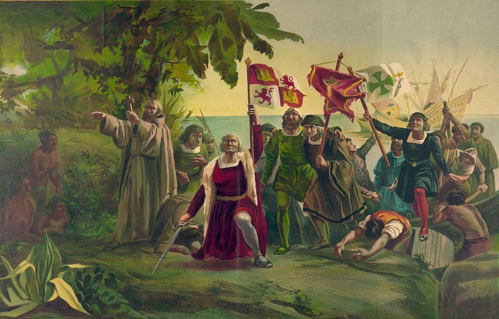 Cristobal Colon upptäckte den amerikanska kontinenten den 12:e oktober 1492.