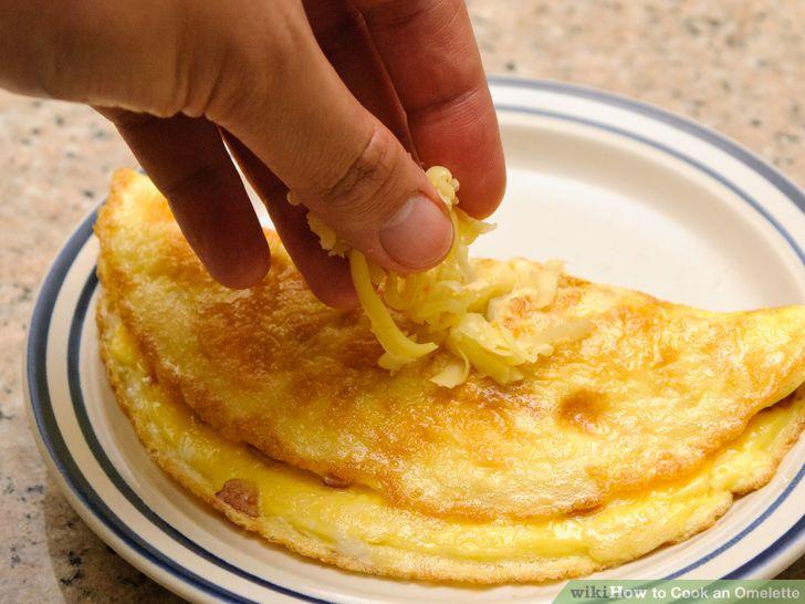 Säg omelett!